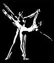 Logo noir et blanc de l'Académie de Danse Lyon 7